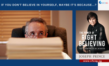 If You Don't Believe In Yourself, Maybe It's Because...?