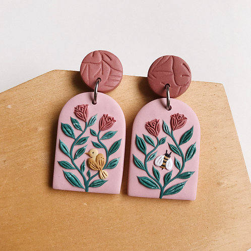 Mixed Restock Polymer Clay Earrings Stainless Steel (2)