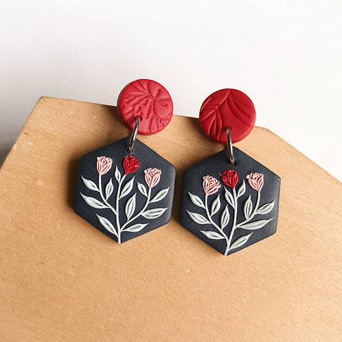 Mixed Restock Polymer Clay Earrings Stainless Steel (7)