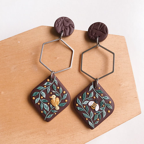 Mixed Restock Polymer Clay Earrings Stainless Steel (11)