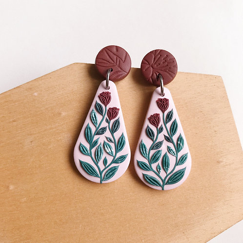 Mixed Restock Polymer Clay Earrings Stainless Steel (9)