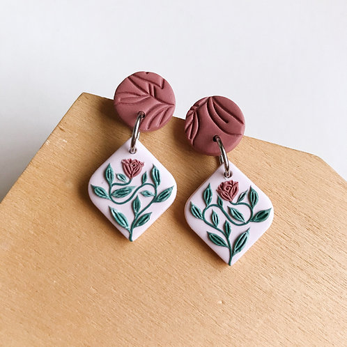 Autumn Collection Polymer Clay Earrings Stainless Steel (11)
