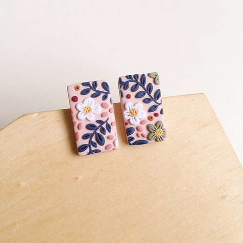 """""""Soph"""" Polymer Clay Stainless Steel Studs"""