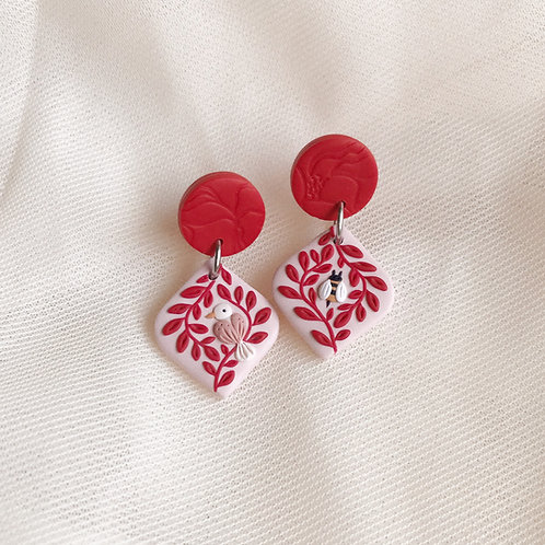 The Birds & the Bees Earrings Small 3.6cm