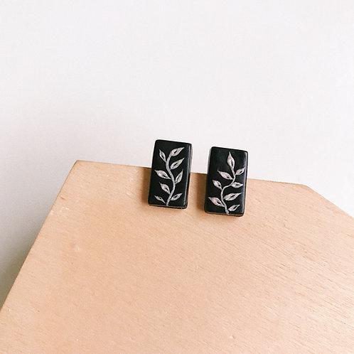 Halloween Polymer Clay Stud Earrings Stainless Steel 1.5cm