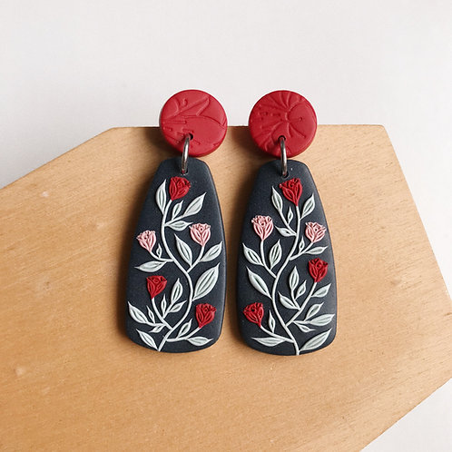 Mixed Restock Polymer Clay Earrings Stainless Steel (5)