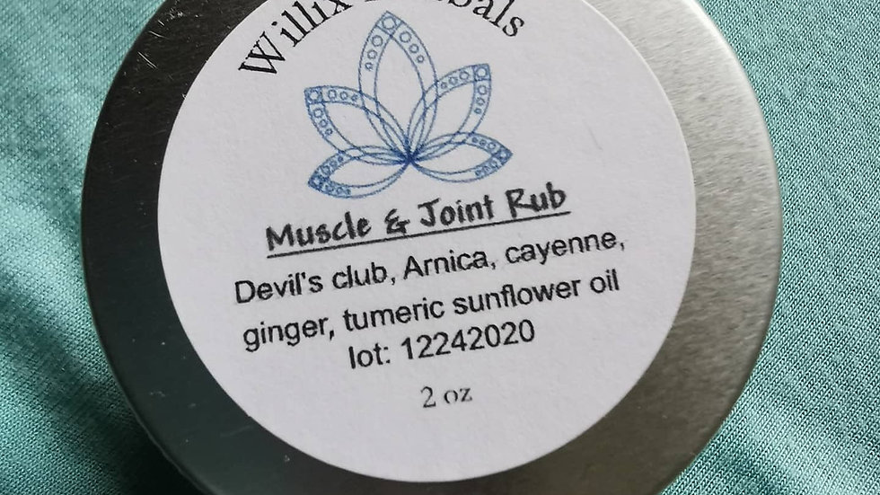 Muscle and joint rub