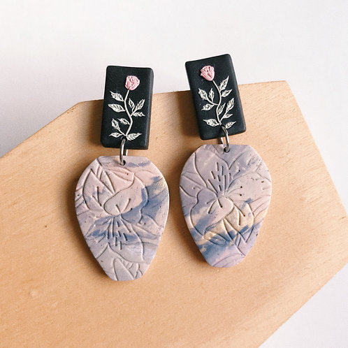 goodbyejohanna x SurviGals Screening Polymer Clay Earrings