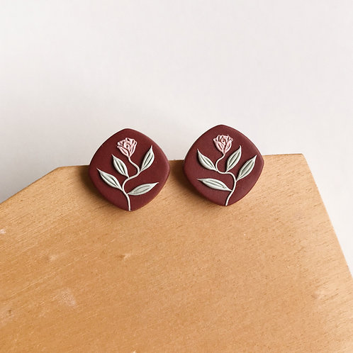 Autumn Collection Polymer Clay Earrings Stainless Steel (16)