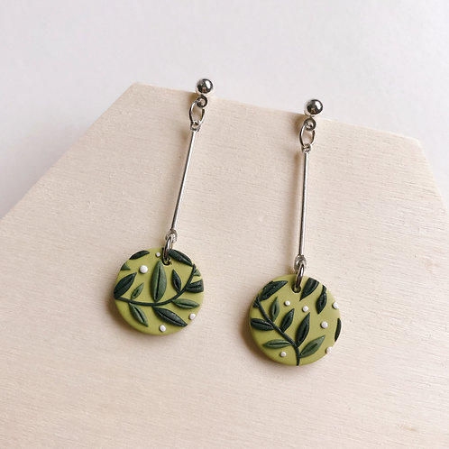 Polymer Clay Drop Earrings