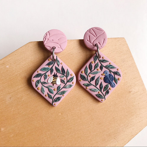 Mixed Restock Polymer Clay Earrings Stainless Steel (1)