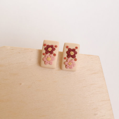 Polymer Clay Stainless Steel Studs