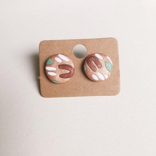 Polymer Clay Studs #3