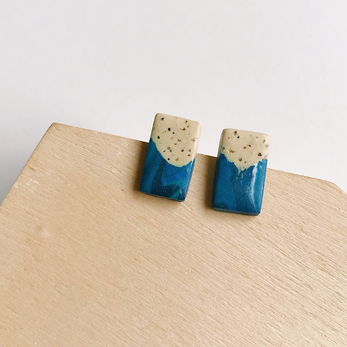 Polymer Clay Studs Stainless Steel