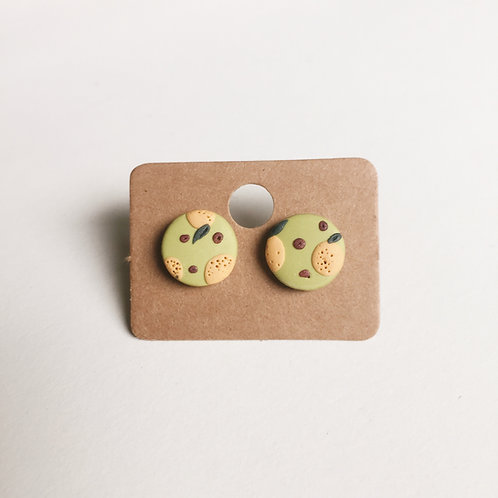 Polymer Clay Studs #5 Stainless Steel