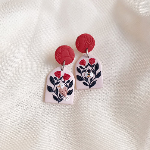 The Birds & the Bees Earrings 4cm