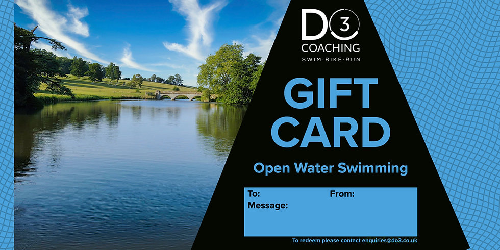 Gift Card - Open Water Swimming