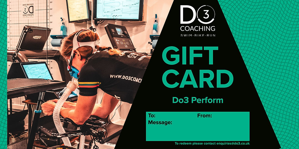Gift Card - Do3 Perform