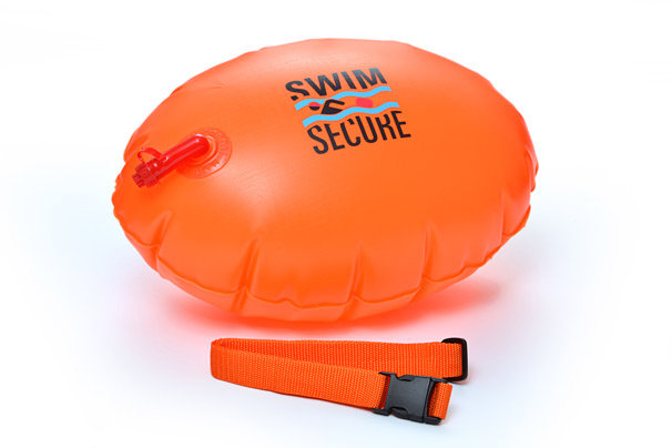 Swim Secure tow float - Classic, orange