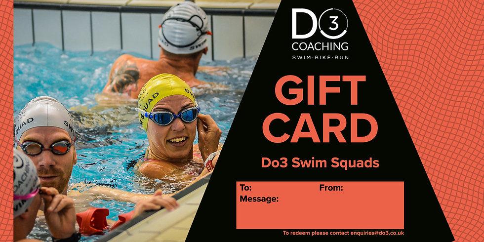 Gift Card - Do3 Swim Squads