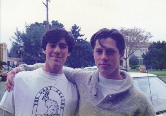 Senior year of High School class of 1989 Santa Rosa, CA. With dear friend, Jesiah, who tragically took his own life.