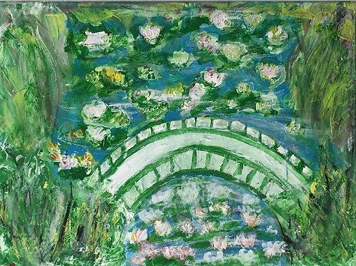 Souvenirs de Giverny en Vert