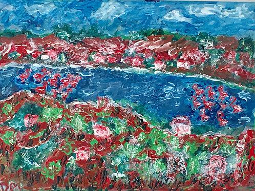 L'Etang de Thau et Flamands Roses