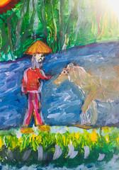 Le Vieil Homme et le Cheval
