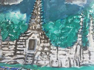 Temple Perdu dans la Jungle