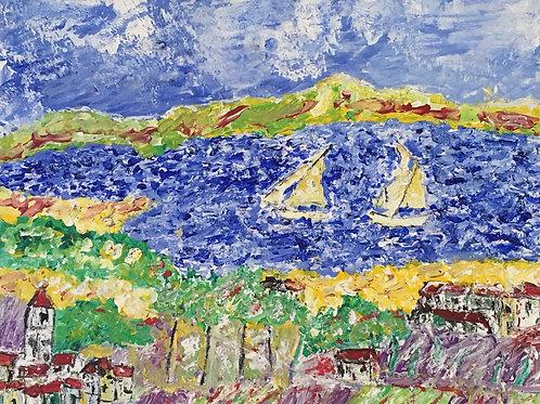 Paysage Marin Méditerranéen