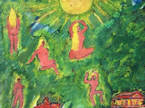 La Nudité et les Baigneurs