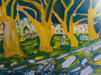 Saint Remy Van Gogh Style