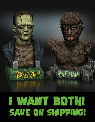 FRANK AND WOLF 2 PACK!