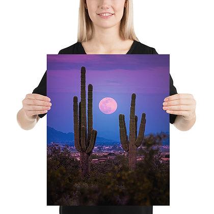 Super Moon Over Phoenix Arizona 2020