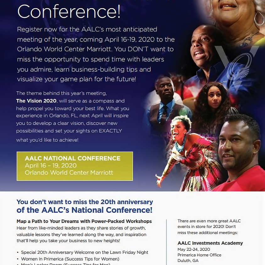 AALC Conference 2020