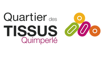 Quartier des tissus Quimperle Logo.png