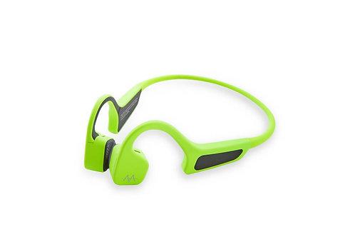 AMA BonELF X, bezdrátová sportovní sluchátka před uši,zelená
