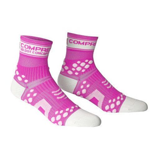 Compressport ponožky Fluo
