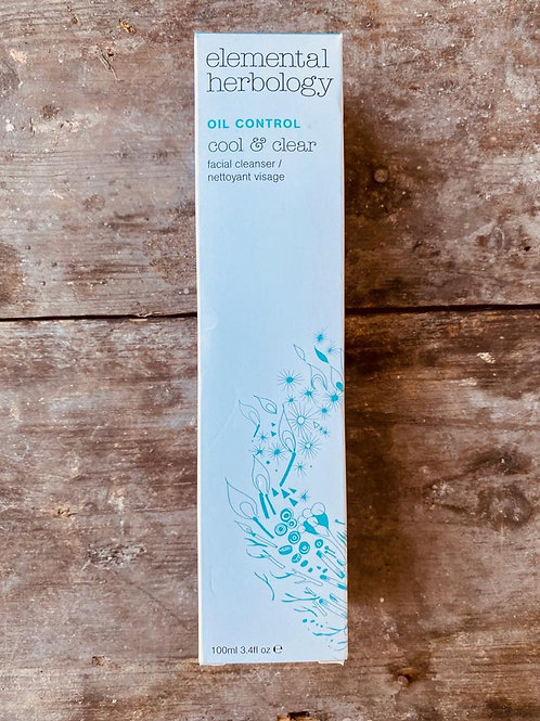 ELEMENTAL HERBOLOGY  COOL & CLEAR FACIAL CLEANSER