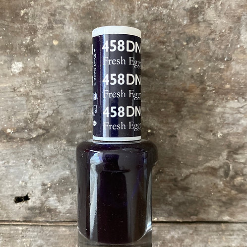 DND - NATURAL NAIL POLISH - FRESH EGGPLANT