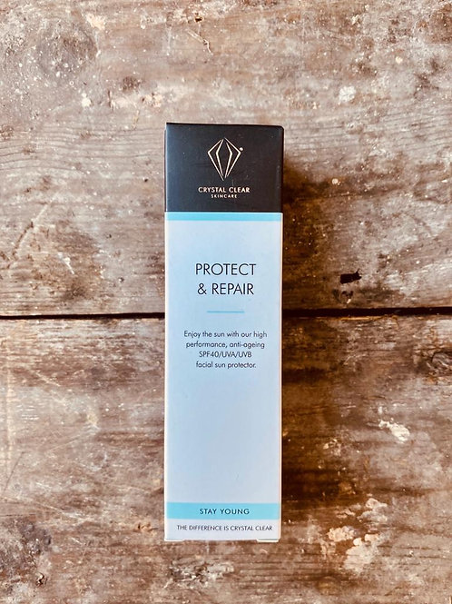 CRYSTAL CLEAR - 25ML TRAVEL SIZE PROTECT & REPAIR SPF40 MIRACLE M
