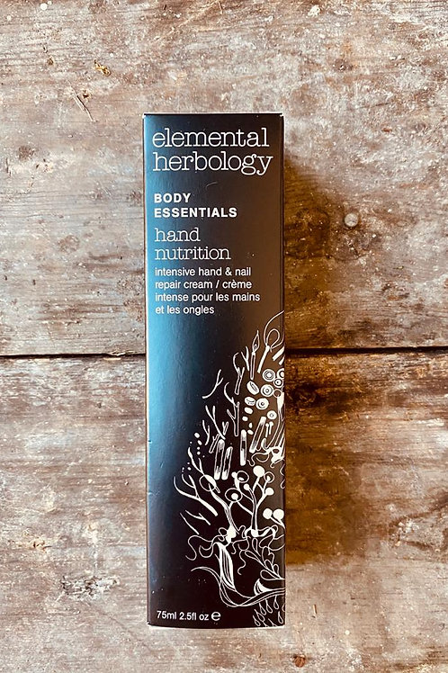 ELEMENTAL HERBOLOGY HAND NUTRITION HAND CREAM