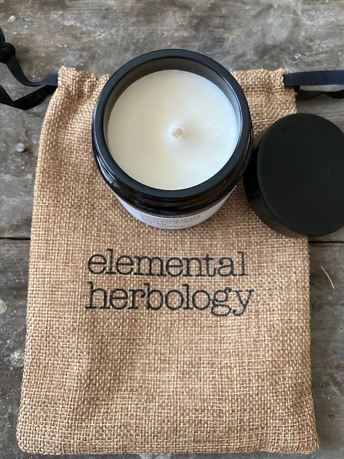CANDLE -WATER ELEMENT AROMATHERAPY SOY WAX