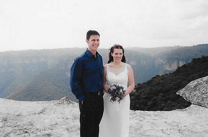 Sally Bruce Celebrant_Her own wedding 2.