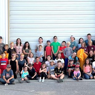 "COMMUNITY - ""4-H gives back at fairgrounds"""