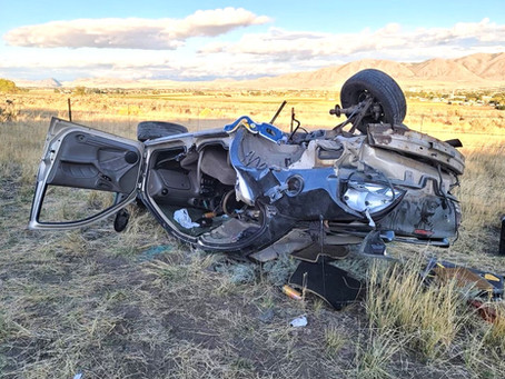 """NEWS - """"Two injured in Sunday rollover"""""""