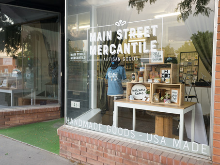 """COMMUNITY  -  """"Handmade on Main: New business supports local artists"""""""