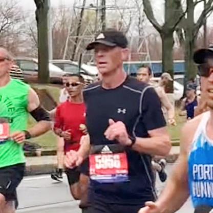 "FEATURE - ""Boston beckons Honeyville runner - again"""