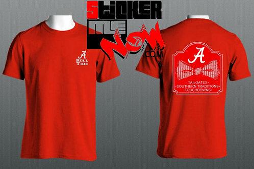 Alabama Logo With Bow On Back