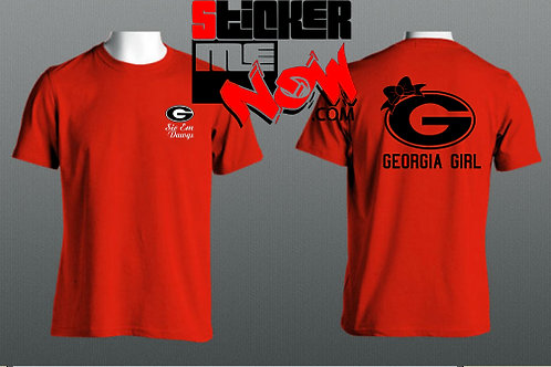 GEORGIA Logo With Logo On Back
